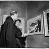 Whittier Art Association Bailey exhibit, 1952