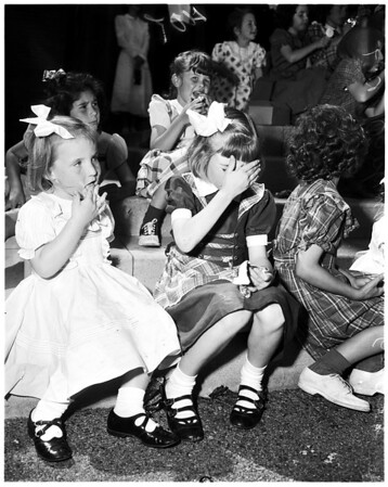 Father's Day at Los Angeles Orphanage, 1952