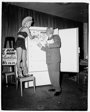 Freezer convention,  1952