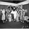 Presentation of engaged girls at Pepperdine College, 1952