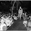 Fashion show at Ambassador Hotel, 1952