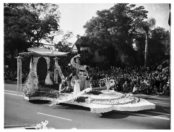 Pasadena Tournament of Roses ...Grand Prize Winner, 1952