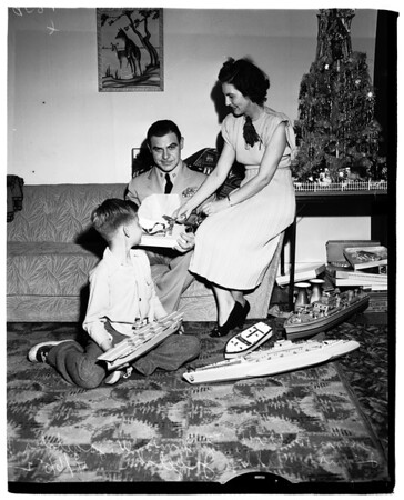 Delayed Christmas Party, 1952