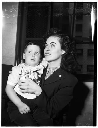 Child beating, 1952