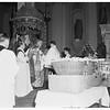 Palm Sunday at Saint Vibiana's Cathedral, 1952