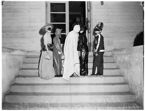 Halloween at San Pedro, 1952