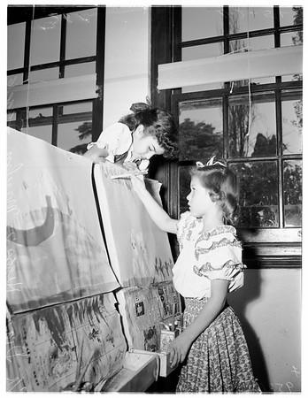 Mount Washington School art show, 1952