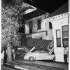 Car into house at 1611 East 4th Street, 1952