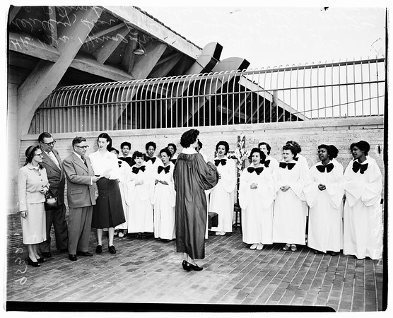 Jail choir, 1952