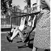 Playground mat (Vermont Avenue School), 1952