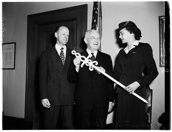 Cancer prevention month proclaimed, 1952