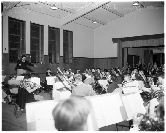 Kiwanis Club Youth Orchestra, 1952