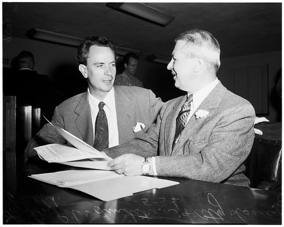 Bergman case, 1952