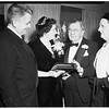 Banquet for Rupert Hughes' 80th birthday at Writers' Round Table, Hollywood, 1952