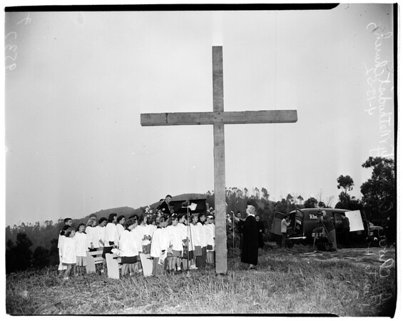Easter Sunrise Services (Puente Hill), 1952