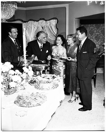 Cocktail party, 1952