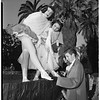 Personalities in and around Rose Parade, 1952