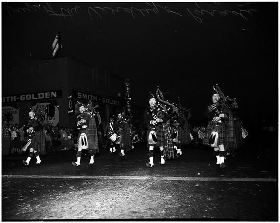 Days of Verdugo parade (Glendale), 1952