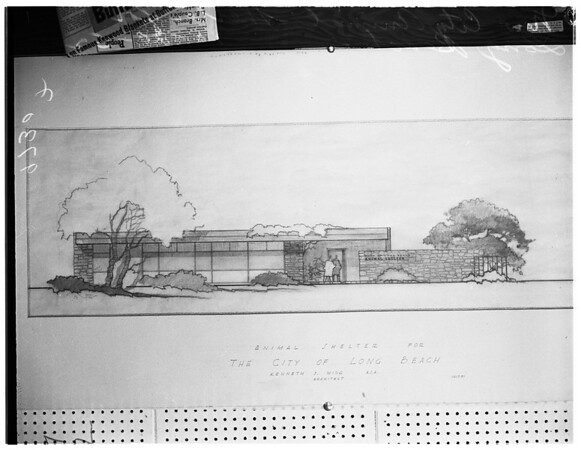 $122, 898 New city animal shelter, 1952