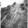 Brush fire at little Santa Anita Canyon, 1952