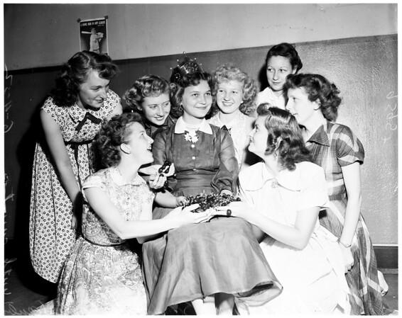 Cherry festival (Beaumont), 1952
