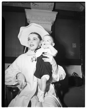 Claire James Divorce, 1952