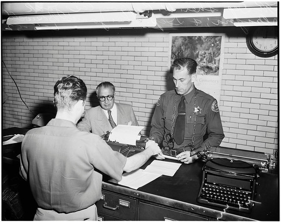 Resorting (given 30 days in jail), 1952