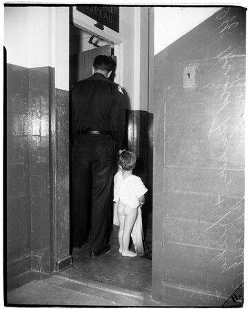 Rickey found in rain,1952