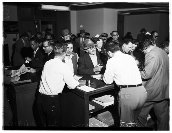 State Income tax, 1952
