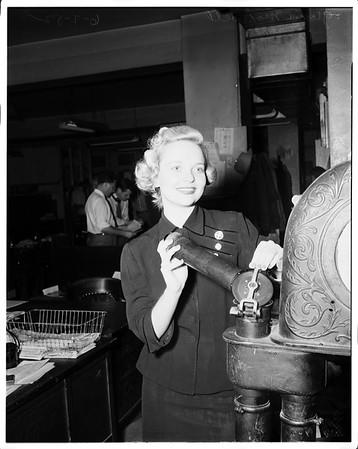 """""""Miss 8 Ball"""", 1952"""
