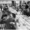 Orphans' picnic, Long Beach, 1952