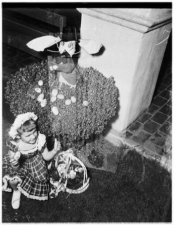 Easter hunt queen, 1952