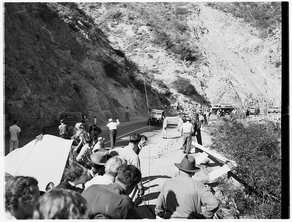 Angeles Crest Highway accident, 1952