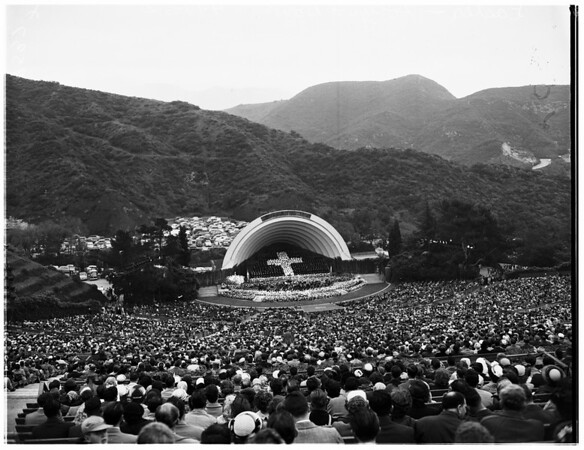 Easter (Hollywood Bowl), 1952
