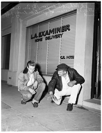 News dealer murder (West Los Angeles), 1952