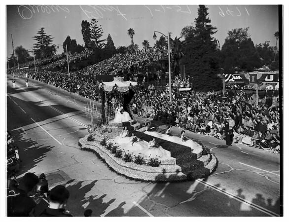 Pasadena Tournament of Roses ...Grand Prize Winner, 1952