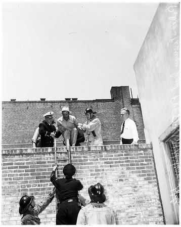 Attempt suicide -- Pasadena, 1952