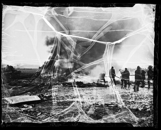 Marsh Field plane crash, 1952