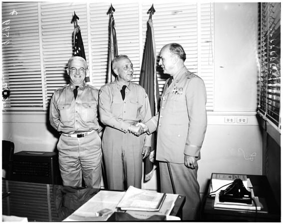 Lieutenant Colonel Gilbert Payne (Third Corps Signal Officer), 1952