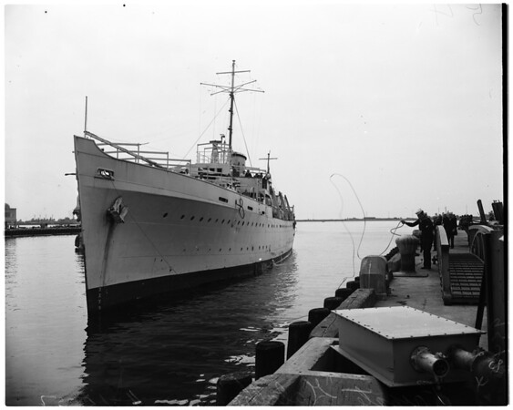 "Danish deep sea expedition (Frigate ""Galathea""), 1952"