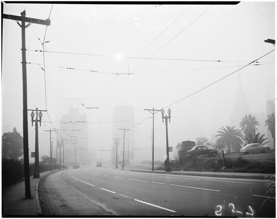 Smog picture, 1950