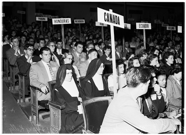 Model United Nations at University of Southern California, 1952