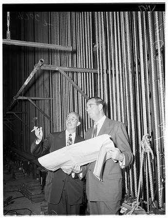 NBC television (Burbank), 1952