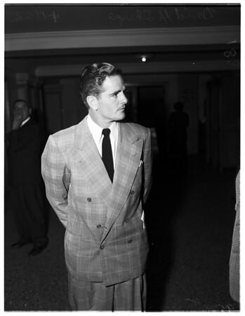 Sharpe divorce, 1952