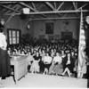 Telephone girls strike, 1952