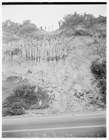 2-year old boy rescued from cliff, 1952