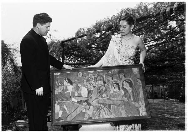 Paintings by Indians (Wisteria Fete), 1952