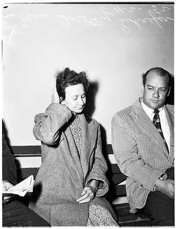 Lost person... Lincoln Heights jail, 1952