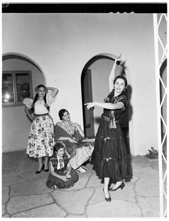 Las Damas, Pan Americanas, 1953