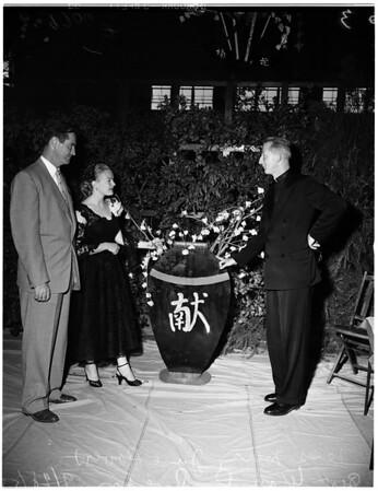 Jesuit priest at Loyola, 1952